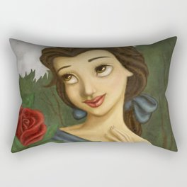belle roses Rectangular Pillow
