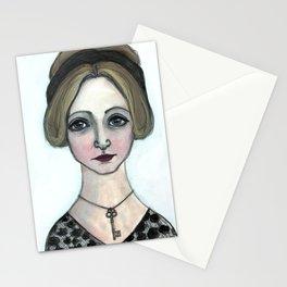 "Anais Nin Literary Portrait, ""Winter of Anais"" Stationery Cards"