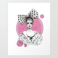 fancy Art Prints featuring Fancy by Tania Santos
