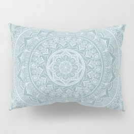 Mandala - Soft turquoise Pillow Sham