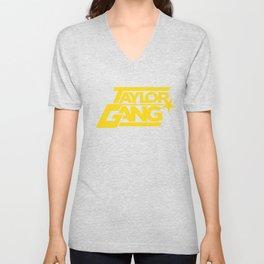 Wiz Khalifa Taylor Gang Weed Squad Steelers Fob Star Hip Hop Squad T-Shirts Unisex V-Neck