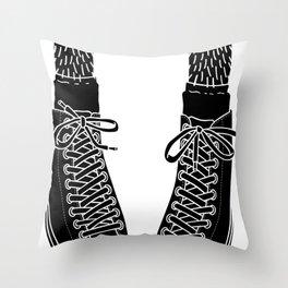Chuck Feet Throw Pillow