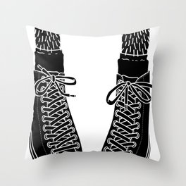 Chuck Feet Throw Pillow