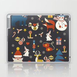 Christmas symbols pattern Laptop & iPad Skin