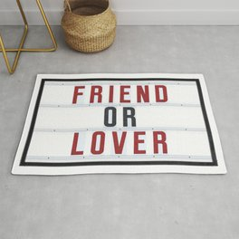 Friend or Lover Rug