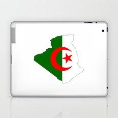 algeria flag map Laptop & iPad Skin