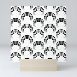 Black arches Mini Art Print