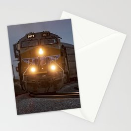 Twilight Freight Train Stationery Cards