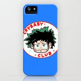 Crybaby Deku iPhone Case