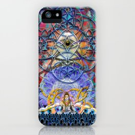Space Shiva iPhone Case
