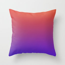 STEAM SCENE - Minimal Plain Soft Mood Color Blend Prints Throw Pillow
