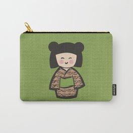 Geisha Dress Code (green) Carry-All Pouch