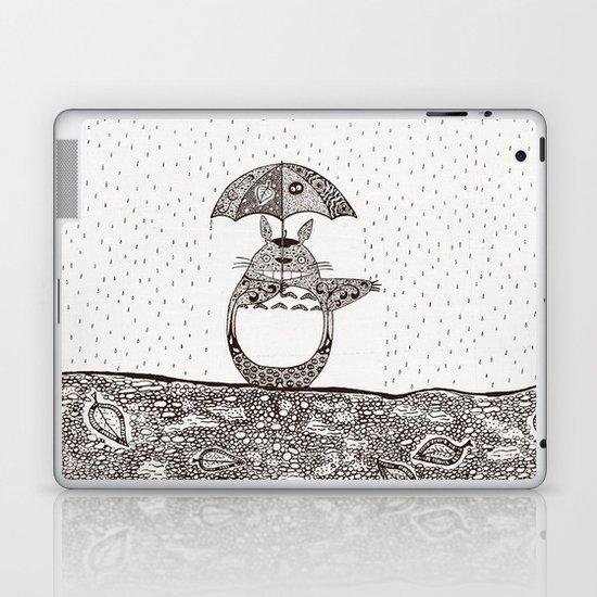 Happy Totoro Laptop & iPad Skin