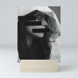 Grey Gay: Not Your Cat Shit Schizophrenic IV Mini Art Print
