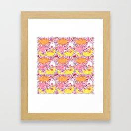 Kit Kats Framed Art Print