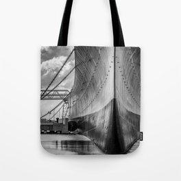 Battleship Tote Bag