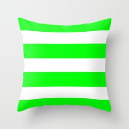 Mariniere marinière green Throw Pillow