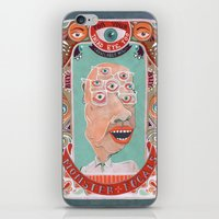 monster iPhone & iPod Skins featuring Monster Focals by Valeriya Volkova