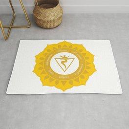 Solar Plexus Chakra #53 Rug
