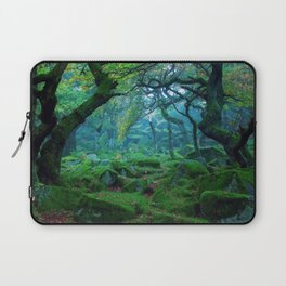 Enchanted forest mood Laptop Sleeve