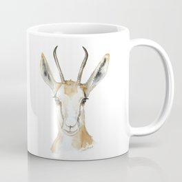 Springbok Antelope Watercolor Painting Coffee Mug