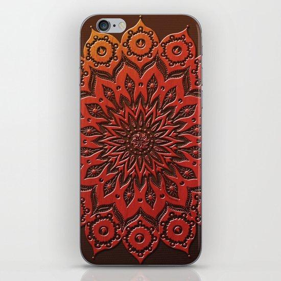 okshirahm woodcut iPhone & iPod Skin