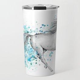 Horse Splash Travel Mug