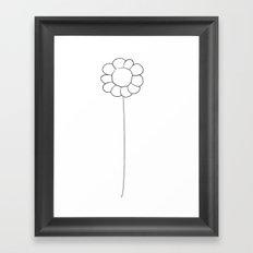 Flower 4 Framed Art Print