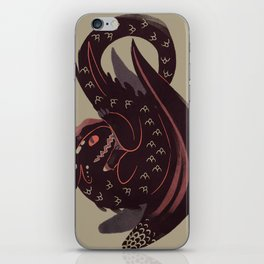 The Bravest Dragon iPhone Skin