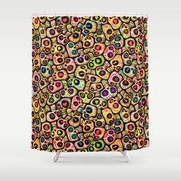 Calaveras del Día de los Muertos. Shower Curtain