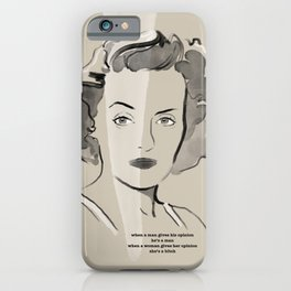 Immortal Icon 02 iPhone Case