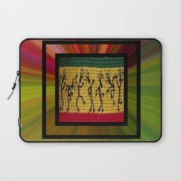 lively up reggae dancers (square) Laptop Sleeve