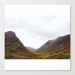Into Loch Lomond and the Trossachs Canvas Print