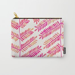 Leaflets – Pink Ombré Palette Carry-All Pouch