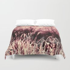 How much greener the grass is with those rose tinted glasses...  Duvet Cover