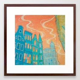 Amsterdam Sky Framed Art Print