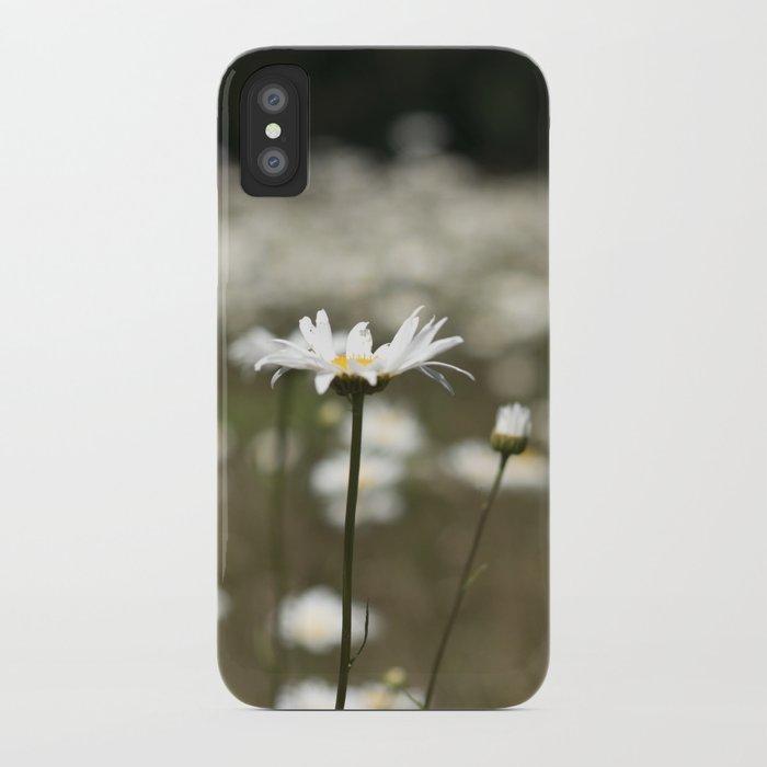 Wildflowers in an Oregon Field iPhone Case