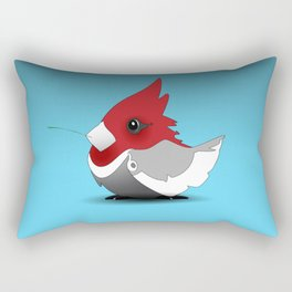 B~Cardinal Rectangular Pillow