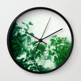 Spring Fresh Rain Wall Clock