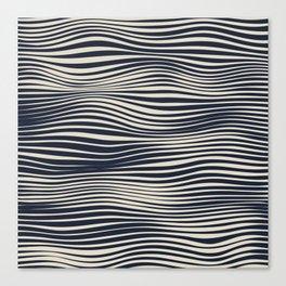 Waving Lines Canvas Print
