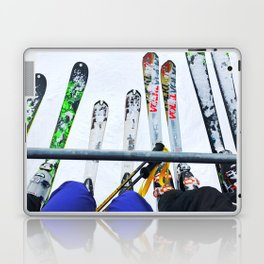 Ski All Day Laptop & iPad Skin