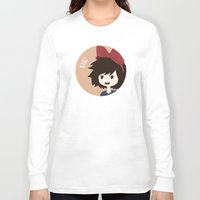 kiki Long Sleeve T-shirts featuring Kiki by gaps81