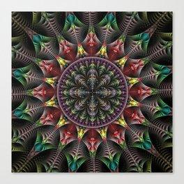 Super Star, fractal abstract Canvas Print