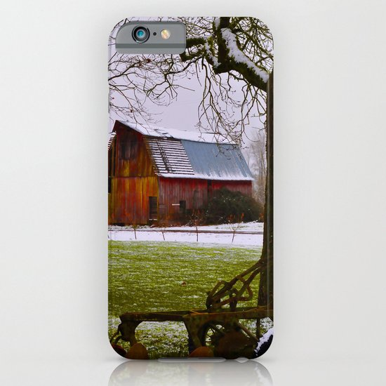Remnants of a Simpler Time - The Barn iPhone & iPod Case