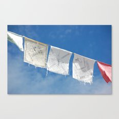 Flags in the Breeze Canvas Print
