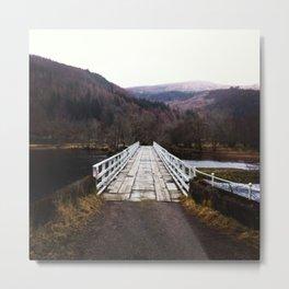 Scottish Highlands: To Cross Loch Arkaig Metal Print