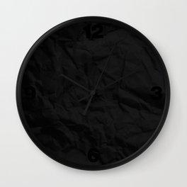VERTICAL BLACK Wall Clock