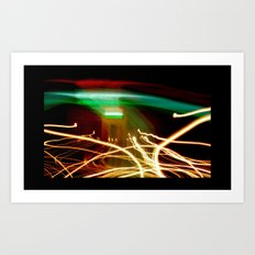 Marty McFly Lands at India Gate #2 Art Print