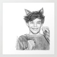 Kitten!louis Art Print