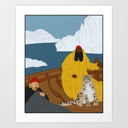 Dirk and James : Lost in the Arctic Art Print